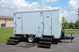 Portable restrooms specializing in Boston, Cambridge and Brookline.