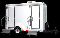 VIP Suite Restroom series - Portable restrooms specializing in Boston, Cambridge and Brookline.